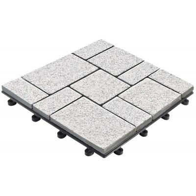 Klickfliese Echtstein Granit